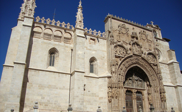 Un vídeo mapping homenajeará la presencia de Carlos I en Aranda