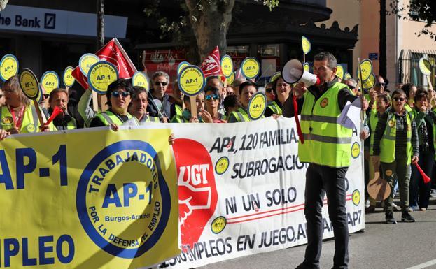 Trabajadores y Europistas firman el ERE a la espera de que Fomento se pronuncie