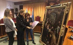 El Ayuntamiento pone en valor un cuadro del siglo XVII de la Adoración de los Reyes