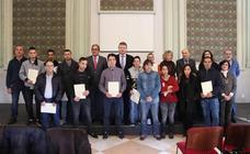 Entrega de Diplomas de los programas mixtos de formación y empleo