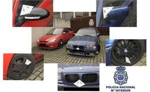 Detenidos en Burgos cuatro jóvenes por varios delitos de hurto
