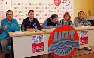 UGT acusa a Aspanias de presionar a los trabajadores para firmar un convenio que supone «un retroceso»
