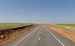 Dos fallecidos en un choque frontal entre dos camiones en Soria