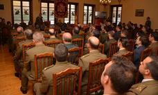 Actos de celebración en la Subdelegación de Defensa en Burgos