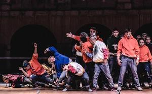 La compañía Fresas con nata presenta su espectáculo de danza urbana 'Expresión'