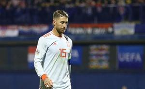 Sergio Ramos abandona la concentración y no jugará contra Bosnia