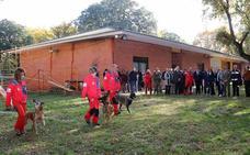 La unidad canina de salvamento del GREM es una referencia internacional