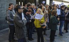 El 12,98% de los funcionarios de justicia de Castilla y León secundan la jornada de huelga