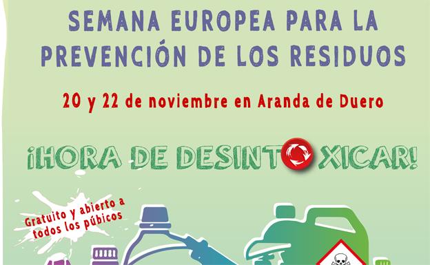 Un programa de actividades en Aranda para concienciar en la reutilización y reciclaje