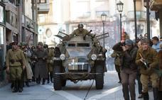 Tropas nazis y soviéticas reviven en las calles de Zamora la Batalla de Stalingrado