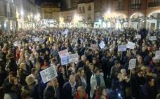 Manifestación en defensa de la Sanidad en Aranda de Duero
