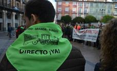 Las movilizaciones por la reapertura del Tren Directo cumplen un año