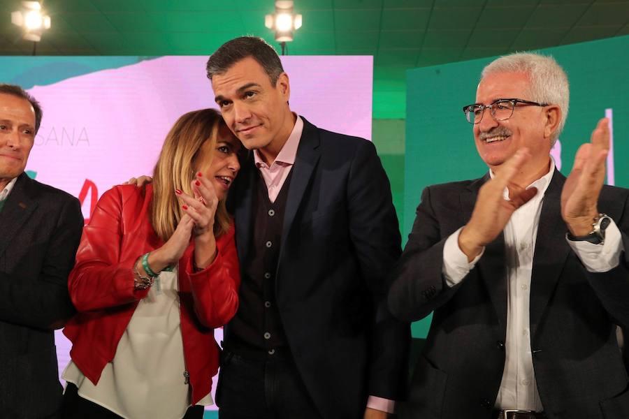 Sánchez asegura que quiere «ganar una década perdida por las políticas injustas del PP»