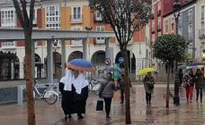 La lluvia llega a Burgos para quedarse