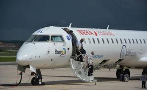 El Aeropuerto de Burgos se libra de la huelga de Air Nostrum y los vuelos a Barcelona no se cancelan