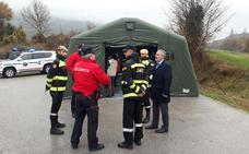 Guardia Civil y Ertzaintza realizan un simulacro de los protocolos de seguridad de Garoña