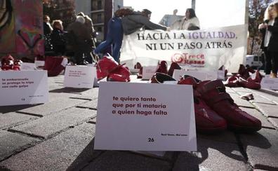 Amnistía Internacional replicará en Burgos una instalación de arte público, y colaborativa, con motivo del Día contra la Violencia de Género