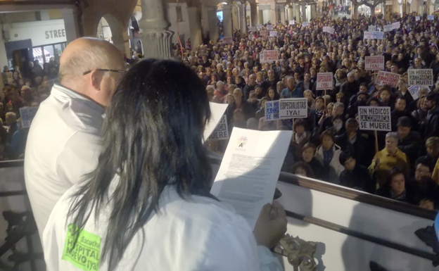 IU exige que se depuren responsabilidades por la falta de luz en la manifestación del sábado en Aranda
