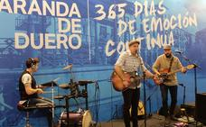 Aranda estrena una nueva versión de su himno en Intur