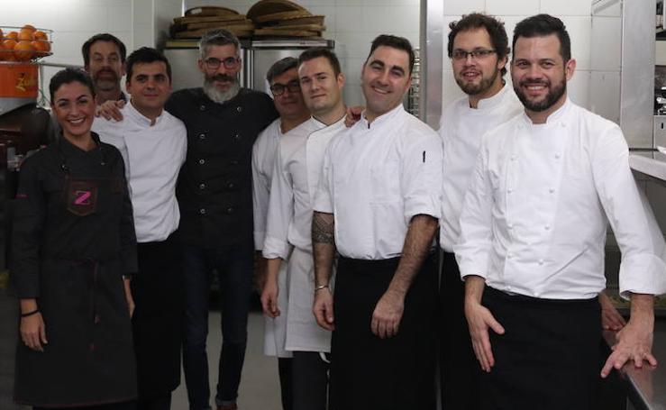 En la cocina de la 'Cena de las Estellas'