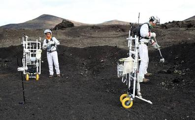 La ESA pone a punto en Lanzarote la tecnología Apolo para regresar a la Luna
