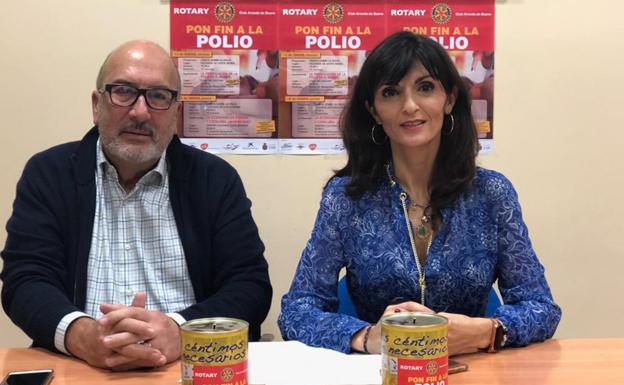 La Fundación Rotaria de Aranda de Duero recauda 4.725 euros para la lucha contra la polio