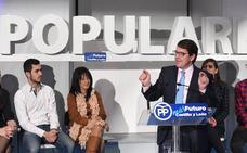 Mañueco arremete en Burgos contra las políticas «radicales» del Gobierno para «cargarse» la industria térmica y nuclear