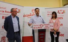 De la Rosa se presenta como candidato en Burgos con el aval «del trabajo del PSOE en el Ayuntamiento»