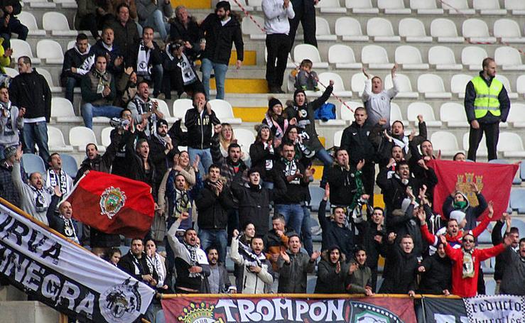 Cultural Leonesa vs. Burgos CF, en imágenes