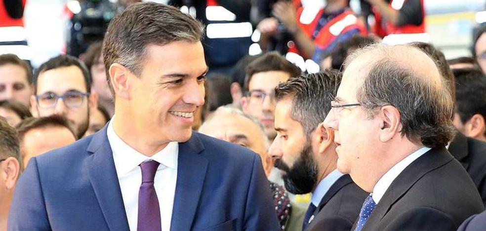 Las siete demandas de Juan Vicente Herrera a Pedro Sánchez