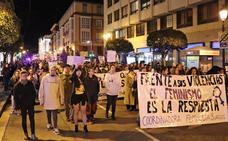 Burgos se echa a la calle contra la violencia de género, clamando por una sociedad no machista