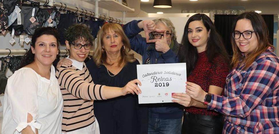 Un calendario de todas guapas contra el cáncer en Valladolid