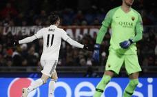 La Roma le regala al Madrid un triunfo beatífico