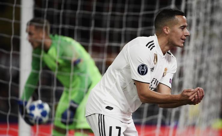 El Roma-Real Madrid, en imágenes