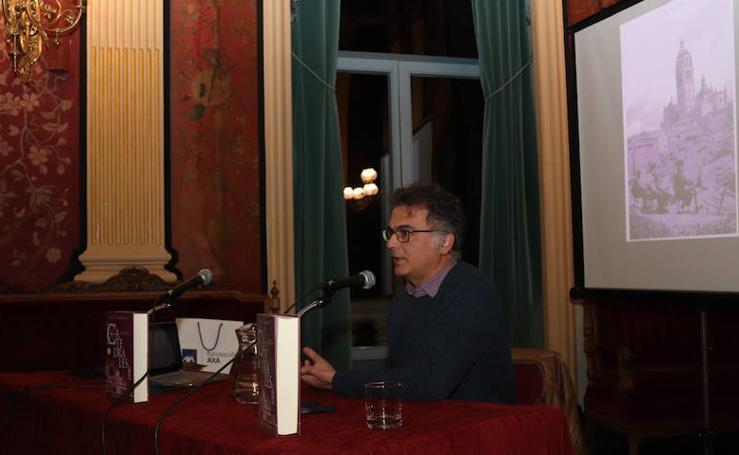 Conferencia de Miguel Sobrino, autor de 'Catedrales', en Burgos
