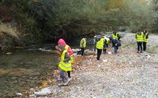 Un total de 329 escolares colaboran en la conservación de la Cuenca Hidrográfica del Ebro