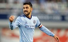 David Villa dice adiós al New York City