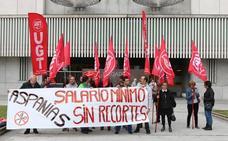 UGT desconvoca los paros en Aspanias