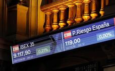 El Ibex-35 rebota un 2% en noviembre después de tres meses de pérdidas