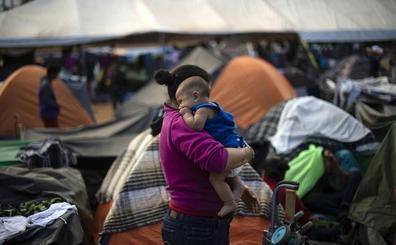 Las mujeres de la caravana migrante hacen huelga de hambre para presionar a México y EE UU