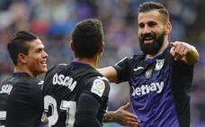 El Leganés rompe su racha negativa a domicilio con una goleada en Zorrilla