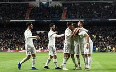 El Madrid se reengancha con dos caras