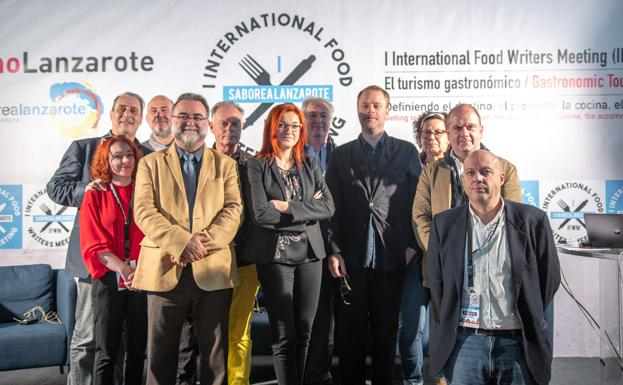 Los ponentes del I International Food Writers Meeting '18, en Lanzarote./IFWM