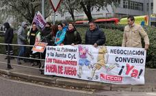 Huelga en Ambulancias Rodrigo