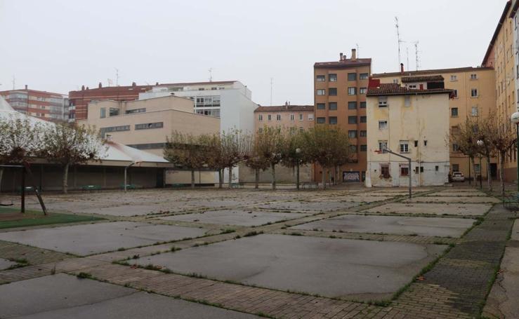 Estado actual de la Plaza de Guadalajara