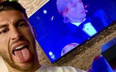 Sergio Ramos muestra su faceta más paternal