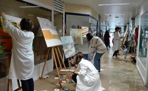Aranda celebra el III Concurso Juvenil de Pintura Rápida
