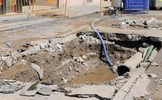 La Diputación estudiará retomar las ayudas del ciclo del agua para retirar las tuberías de fibrocemento