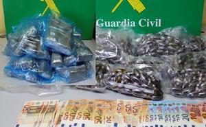 Detenida una persona en Burgos por tráfico de cocaína