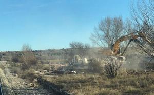 La Plataforma por el Directo considera una «incongruencia» la demolición de la estación de Gumiel de Izán
